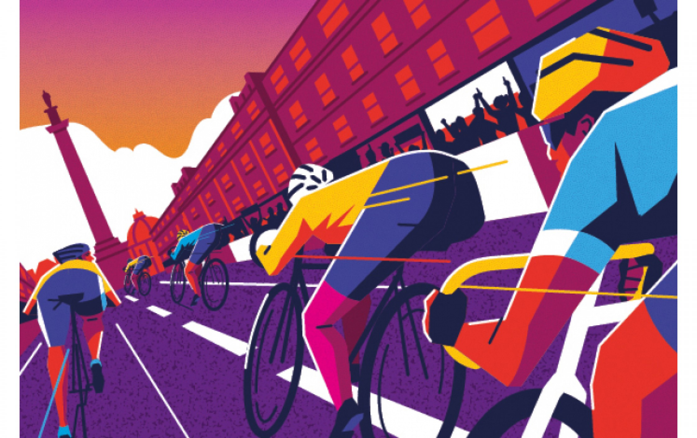 NE1's Newcastle City Sprint - sunset cycle racing in the heart of the city